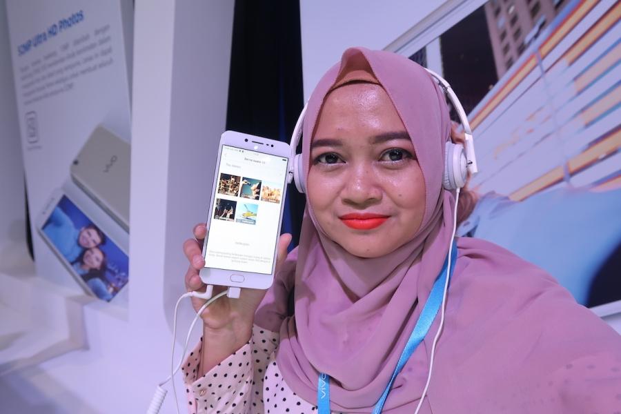 Selfie Paripurna Menggunakan VivoV5s